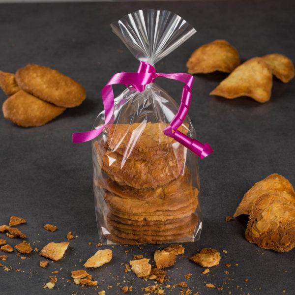 Biscuits tuiles et galettes orange 150gr - Hautlé, Genève