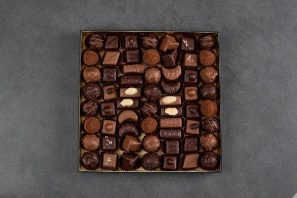 Boite de chocolat élégance 750gr - Hautlé, Genève